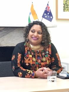 Gonsalves Australia India Institute 18AUG2017 Photo Anita Savage
